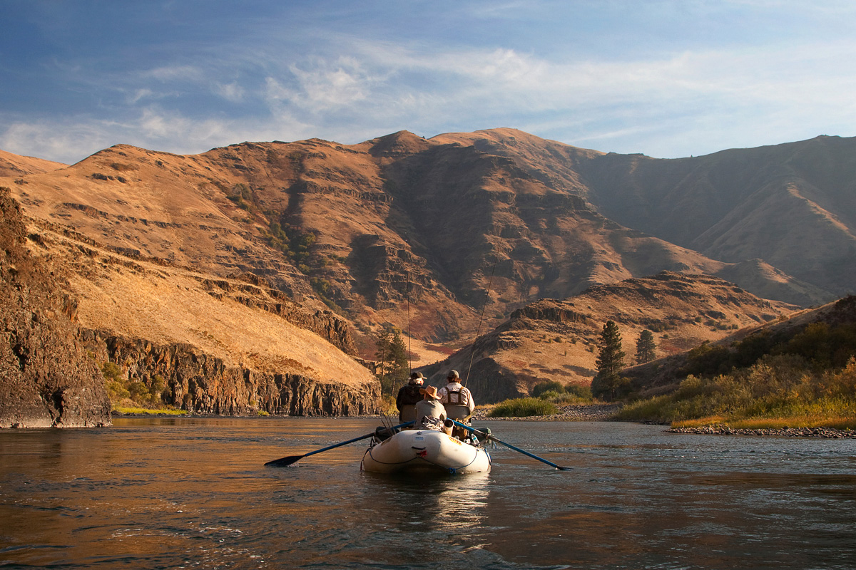 A river raft trip adventure into the Grand Rhonde river canyon in northeastern Oregon