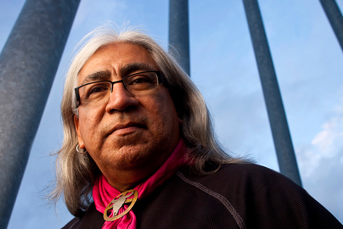 Professor of Native Americans studies on Portland State University campus
